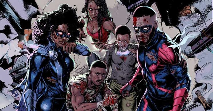 Banda desenhada The Antagonists vai ser adaptada para TV