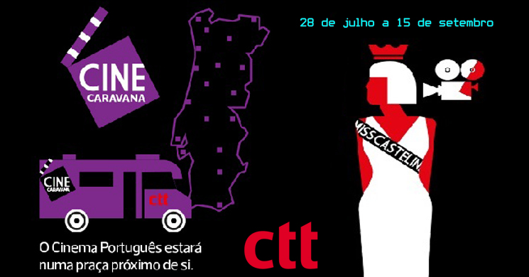 CTT promove sessões gratuitas com o Cine-Caravana