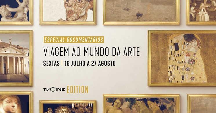 Especial Documentários :Viagem ao Mundo da Arte no TVCine Edition