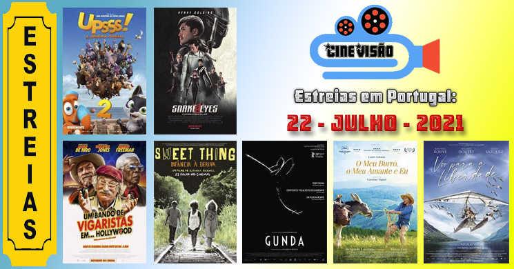 Estreias da semana. 7 novos filmes para ver a partir de 22 de julho