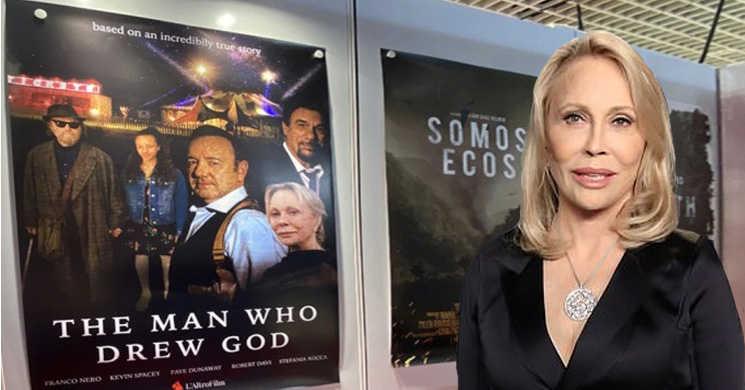 Faye Dunaway aparecerá ao lado de Kevin Spacey no controverso filme
