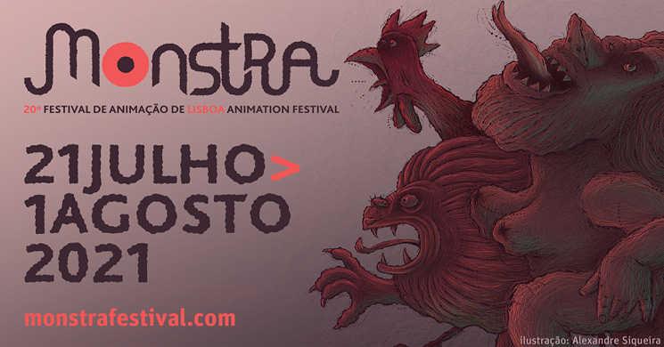 Arranca hoje a 20º edição do MONSTRA -  Festival de Animação de Lisboa