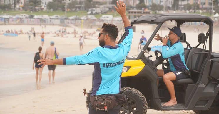 Imagem da série Resgate na Praia