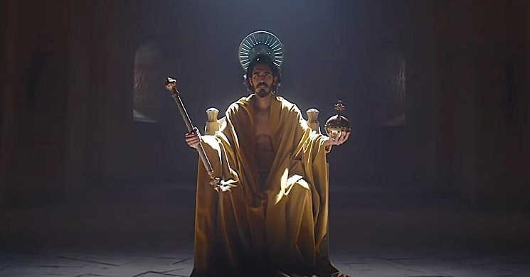 Imagem do filme A Lenda do Cavaleiro Verde
