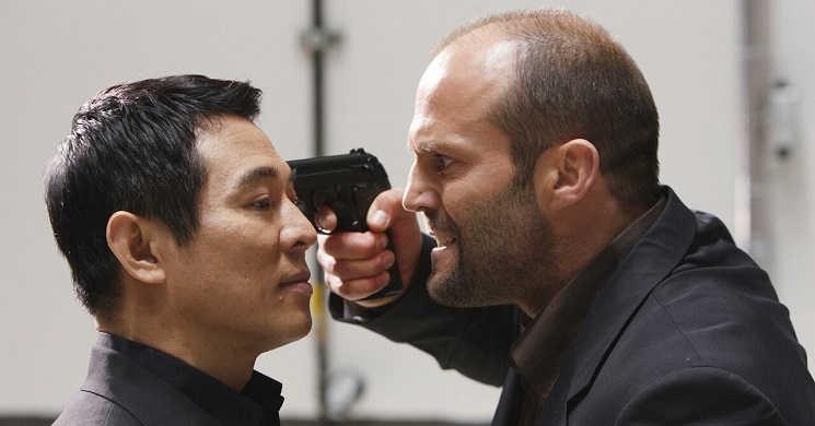 """Jason Statham e Jet Li no filme """"Guerra"""""""