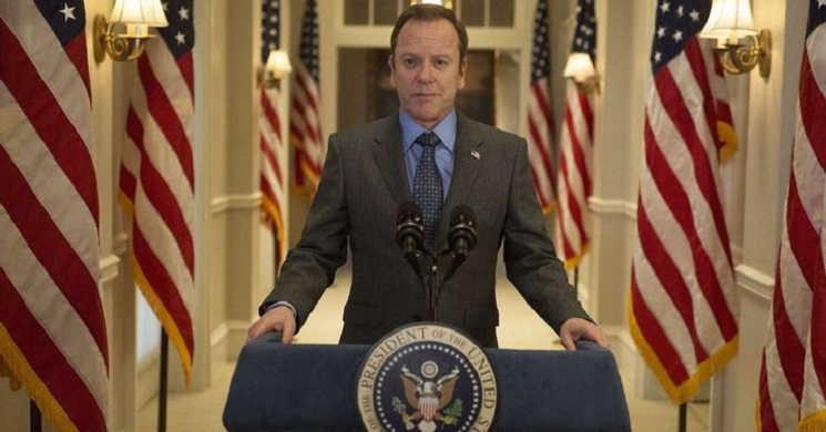 Kiefer Sutherland será o presidente Franklin D. Roosevelt na série
