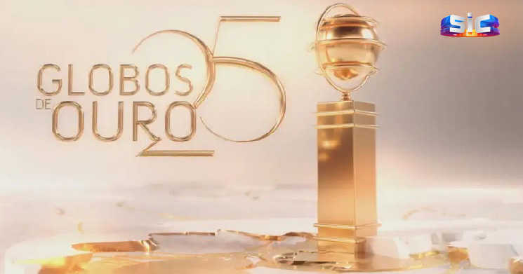 SIC anuncia nomeados para a 25ª edição dos Globos de Ouro