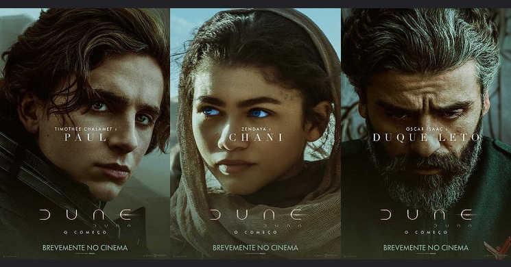 Pósteres de personagens do filme Duna