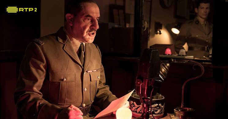 RTP2 estreia a série De Gaulle - Prestígio e Intimidade