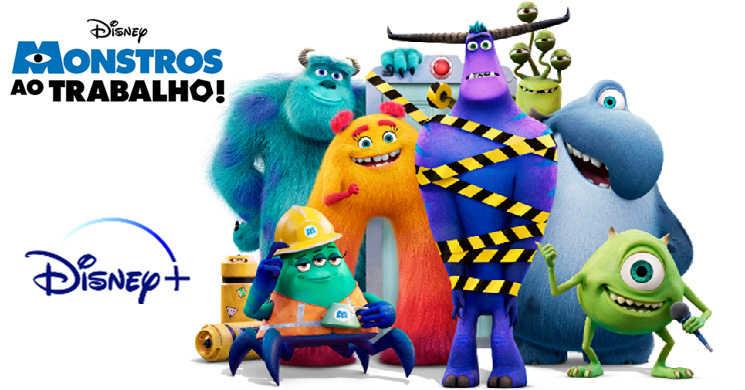 Série Monstros ao Trabalho! no Disney Plus