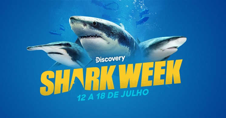 Shark Week no Discovery Channel Portugal