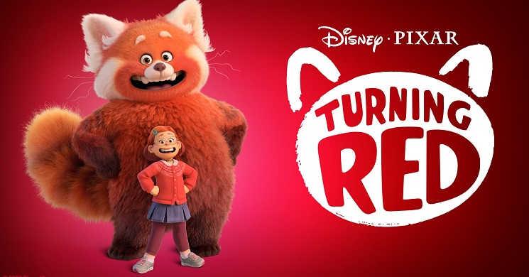 Trailers portugueses do filme animado Turning Red