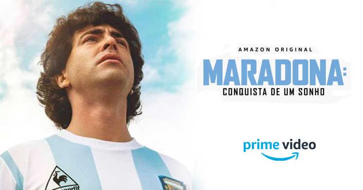 Amazon Prime Video estreia Maradona: Conquista de um Sonho