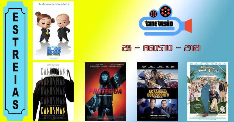 Estreias nos cinemas portugueses: 26 de agosto de 2021