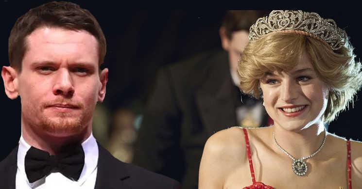 Jack O Connell juntou-se a Emma Corrin no filme