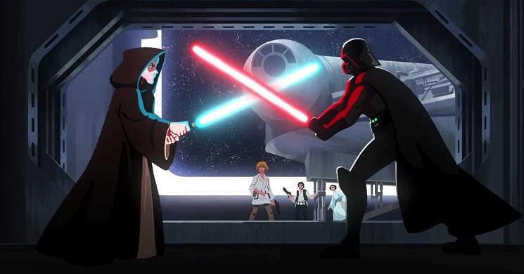 Trailer oficial da série Star Wars: Visions