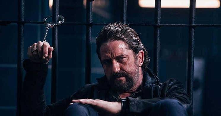 O assassino Gerard Butler à caça do vigarista Frank Grillo no trailer de