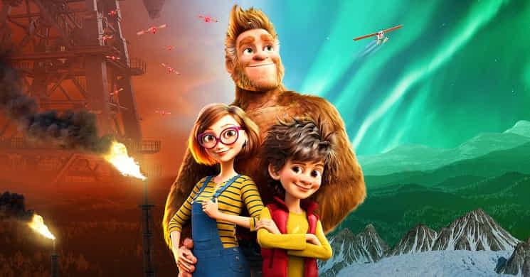 Estreia e trailer do filme Bigfoot em Família
