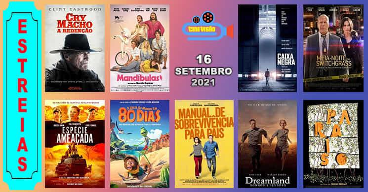 Conheça os filmes que pode ver nos cinemas a partir de 16 de setembro