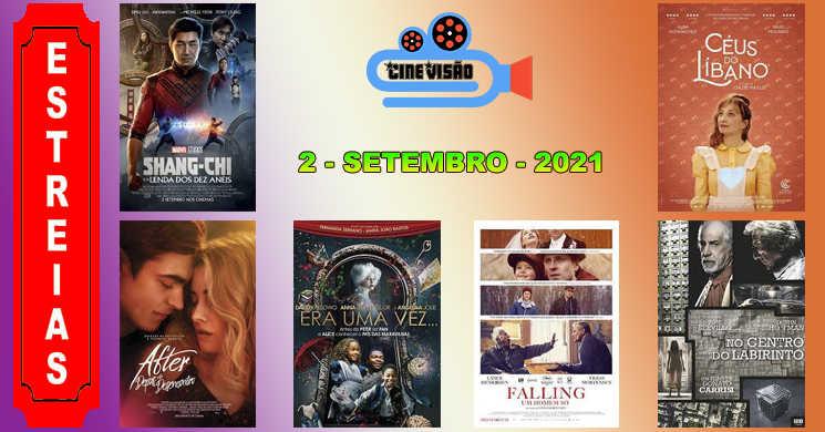 Estreias da semana: Conheça melhor os seis filmes que entram em cartaz
