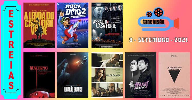 Está a pensar em ir ao cinema? Conheça as estreias desta semana