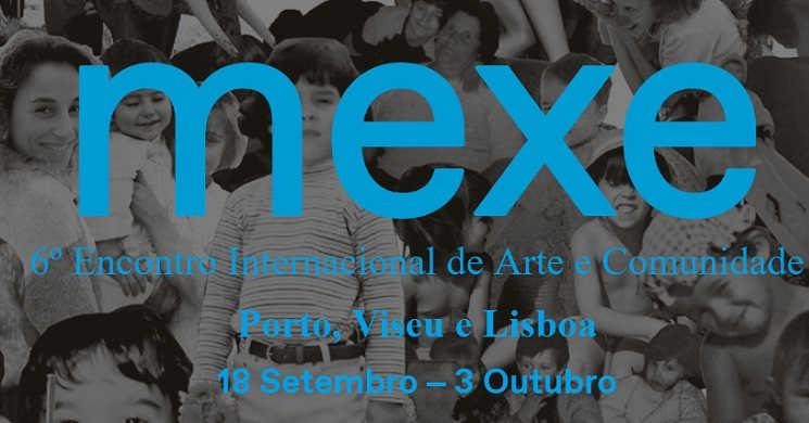 Programa de cinema da 6ª edição do MEXE - Encontro Internacional de Arte e Comunidade