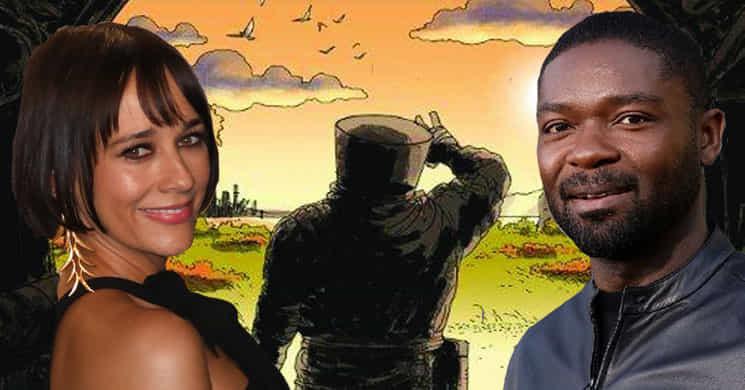 Rashida Jones e David Oyelowo no elenco da série Wool