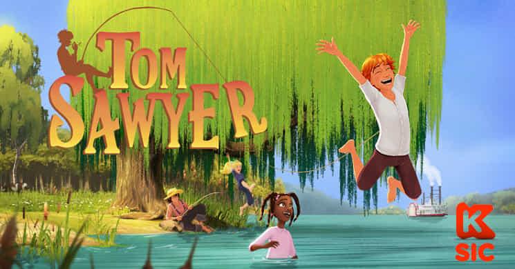 SIC K estreia a serie animada Tom Sawyer