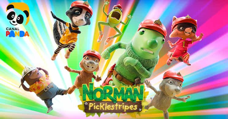 Canal Panda estreia a série animada Norman Pickelstripes