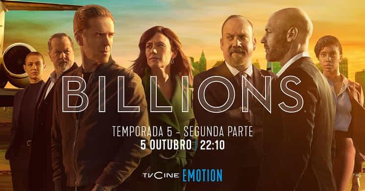 TVCine Emotion estreia a segunda parte da 5ª temporada de
