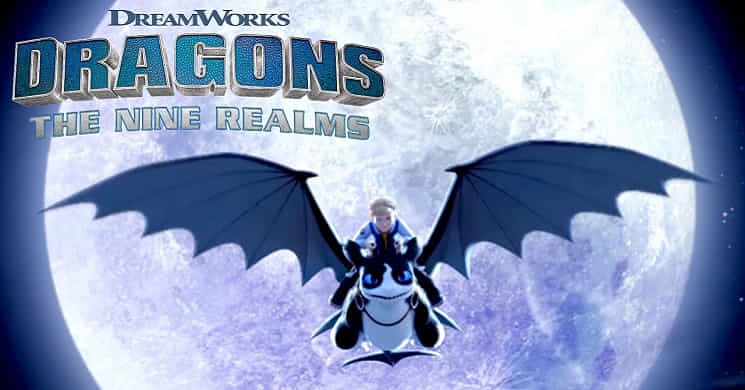 Teaser da série animada Dragons: The Nine Realms